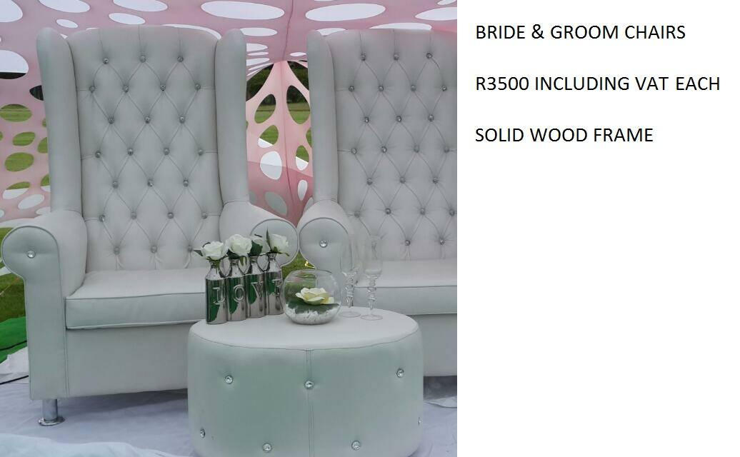 His And Hers Chairs For Hire In Soweto Wroc Awski